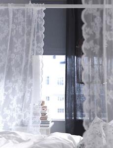 IKEA Gardine Alvine Spets Vorhang Dekoschal Vorhänge Landhaus