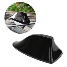 Black Universal Car Roof Radio Amfm Signal Shark Fin Style Aerial Antenna Cover