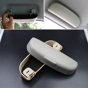 Grey-Car-Sunglasses-Holder-Glasses-Case-Cage-Storage-Box-Auto-ABS-Accessories