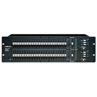 Ashly Gqx-3102 Graphic Equalizer Stereo 31-band With 45mm Faders, 3u
