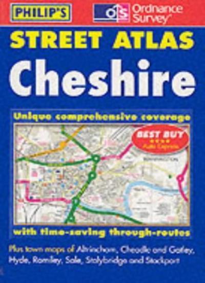 Street Atlas Cheshire: The Definitive Cheshire Atlas (Pocket Street Atlas) By G