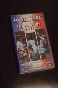 K7-LA-VICTOIRE-DE-L-EQUIPE-DE-FRANCE-TENNIS-EN-COUPE-DAVIS-1991-VHS
