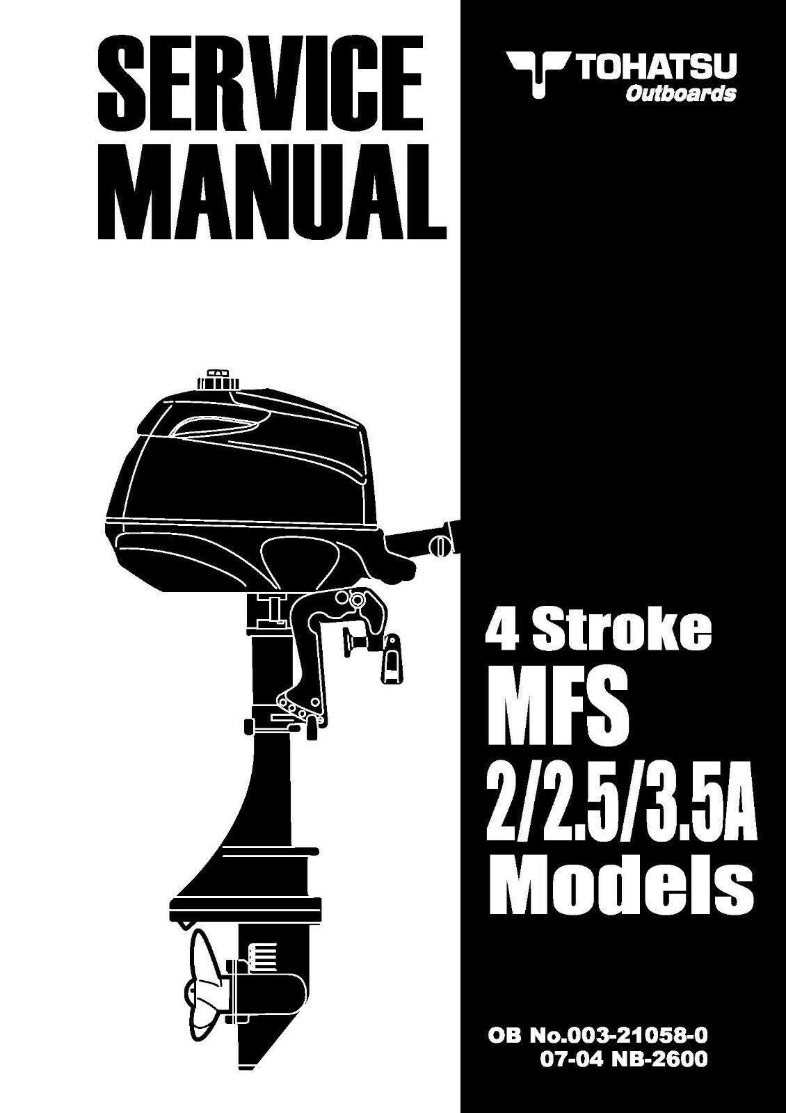 TOHATSU OUTBOARD ENGINE SERVICE KIT M140A A2 140HP 2.STROKE