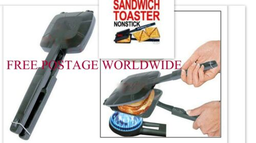 Gas//Stove Hob Bread Roasted Sandwich//Toaster//Grilled//Griller Non Stick Steel