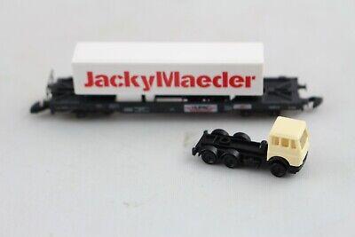 8603 Hupac Wagen M.semirimorchio Jacky Maeder Märklin Mini-club Spur Z + Top + I Clienti Prima Di Tutto