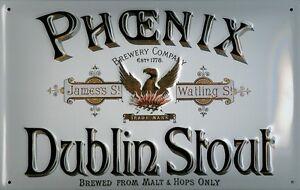 GUINNESS GOLD LABELS Vintage Metal Pub Sign3D Embossed SteelHome Bar