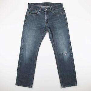 Vintage Levi's 559 blau Denim Relaxed Straight Jeans Herren w33 l34