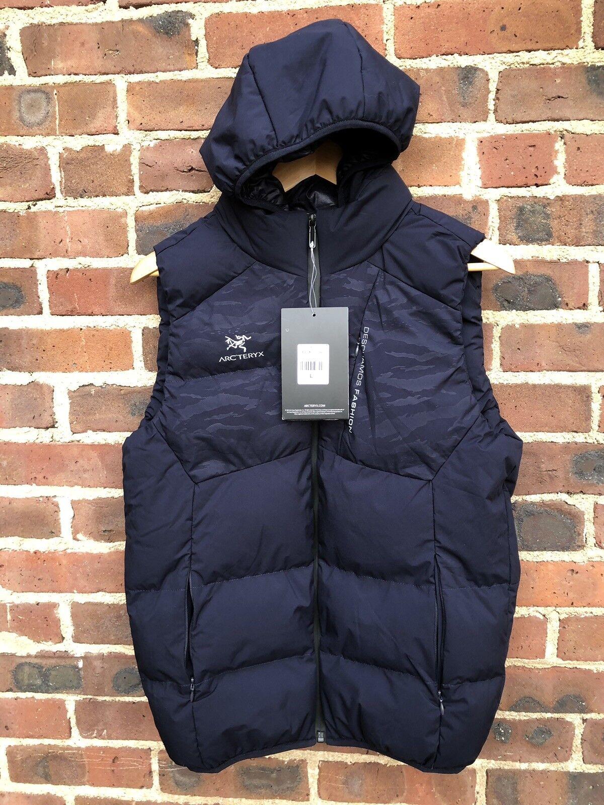 Arc'teryx  Women's  Puffy Vest  OSCILLATOR Series Size L  amazing colorways