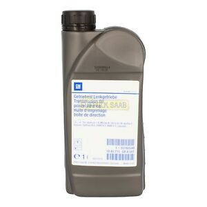 saab power steering oil fluid pentosin chf 202 1 litre 93160548 genuine parts ebay. Black Bedroom Furniture Sets. Home Design Ideas