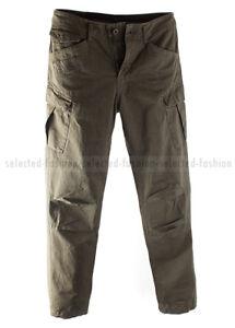 Détails sur G STAR RAW Pantalon Cargo Rovic loose Army Green Field Twill W31 L32 afficher le titre d'origine