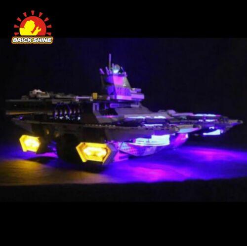 Australia Top Rated Seller LED Light Kit for LEGO  The SHIELD Helicarrier 76042