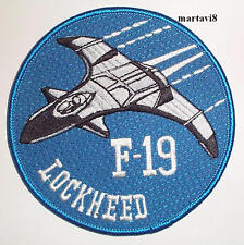 `LOCKHEED F-19` Aircraft Cloth Badge / Patch (A10)