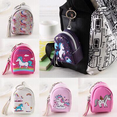 Mother Of Unicorns Coin Purse Mini Leather Hasp Handbag