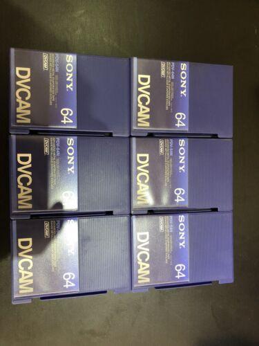 Cinta evoprateted Metal Sony pdv-64n Dvcam-Nuevo