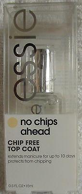 Essie Top Coat No Chips Ahead Glossy Nail Polish Shiny Lacquer Manicure Nail Art
