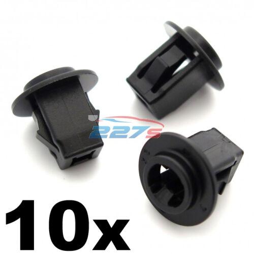 10x vis en plastique œillets pour NISSAN /& INFINITI passage de roue doublure /& mic
