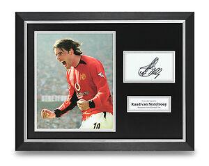 Ruud-van-Nistelrooy-Signed-Photo-Framed-16x12-Man-Utd-Autograph-Memorabilia-COA