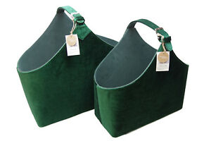 Retro Kühlschrank Dunkelgrün : Zeitungskorb samanta samt retro grün 2 größen wählbar l 40cm oder