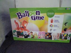 Image is loading Balloon-Time-standard-Helium-Balloon-Kit-Helium-Tank-