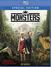 Monsters (Blu-ray Disc, Gareth Edwards, 2010, 2011) VERY GOOD!