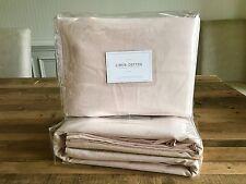 "Restoration Hardware Baby & Child Linen-Cotton Petal Pink 96"" Blackout Drapes"