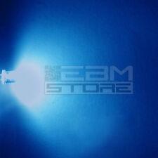 100 pz led FLAT TOP blu alta luminosità 8.000 mcd 5 mm - ART. AH12