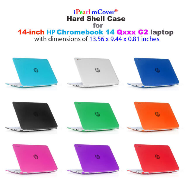 Ipearl Mcover Hard Shell Case 14 Hp Chromebook 14 G2 Series Laptop Cover Rc656