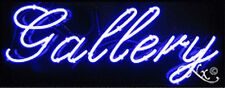Brand New Gallery 32x13x3 Real Neon Sign Withcustom Options 10063