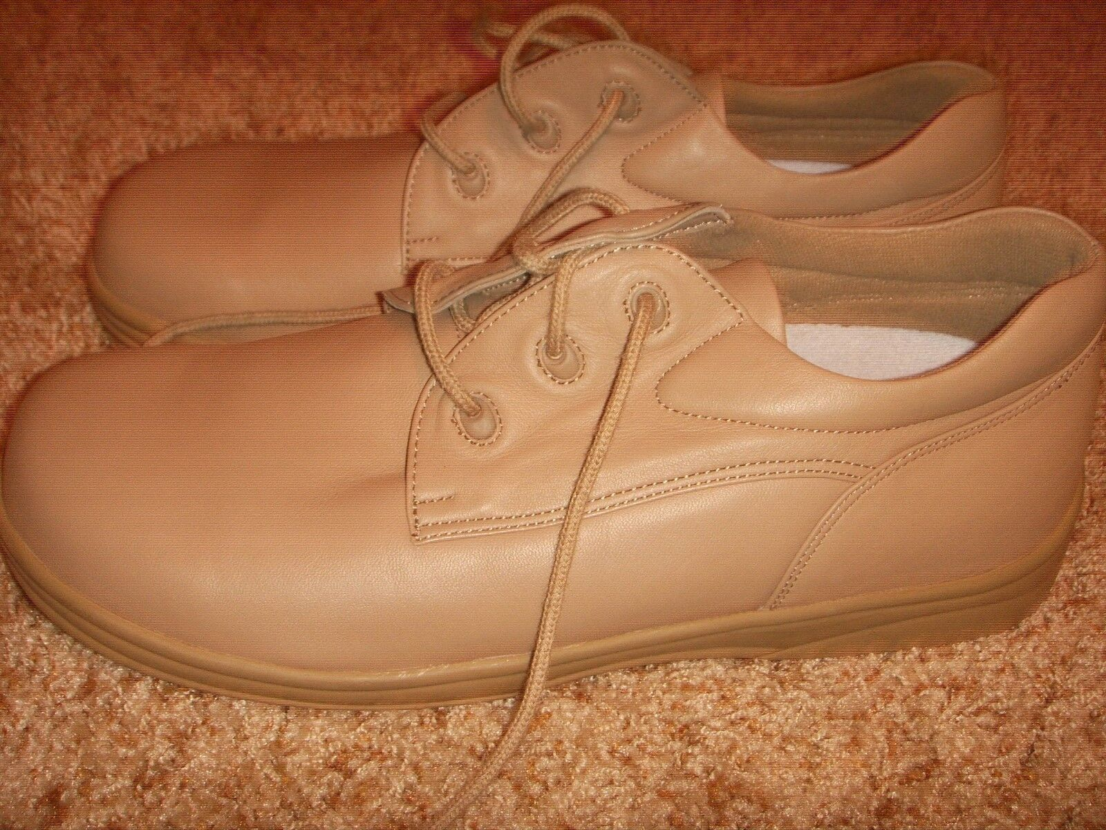 APEX Y540W comfort walking shoes taupe Womens Size 12M