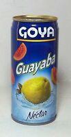 Goya Guayaba Fruit Nectar Juice Puerto Rico Refresco Cold Drink Beverage Food 12