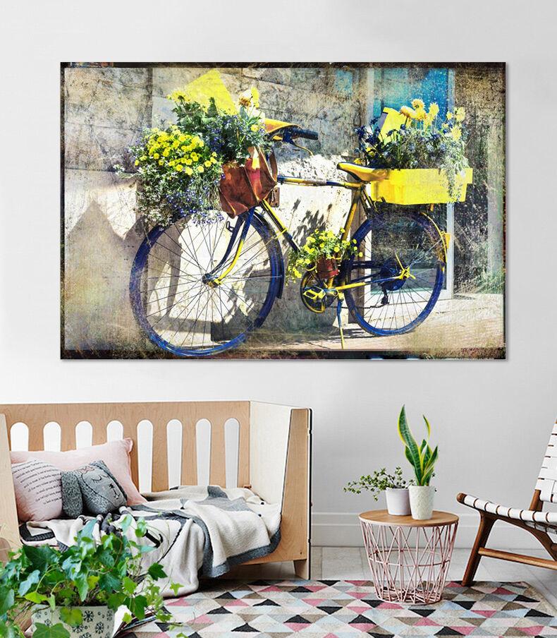 3D Fahrrad Topf 643 Fototapeten Wandbild BildTapete AJSTORE DE Lemon