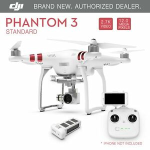 dji phantom 3 standard fpv drone with 2 7k 12 megapixel hd. Black Bedroom Furniture Sets. Home Design Ideas