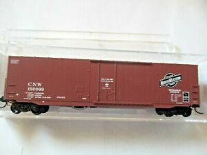 N Scale Micro Trains MTL 20950 CGW Chicago Great Western 40/' Box Car #90017