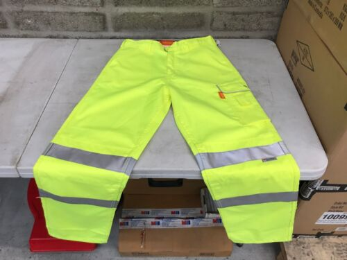 Yellow Trousers Bseen Hi Vis Pctensy Poly Work Cotton CwCX7q6