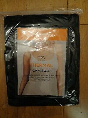 BNWT LADIES M/&S LINGERIE RANGE 2 PACK LONG SLEEVED THERMAL VESTS SIZE 12 R//P £25