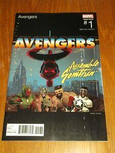 AVENGERS #1 MARVEL COMICS HIP HOP VARIANT