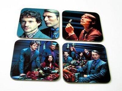 Hannibal Dancy and Mikkelsen TV Show COASTER Set