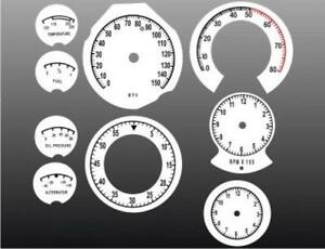1968-1970-Dodge-Charger-Roadrunner-Dash-Cluster-White-Face-Gauges