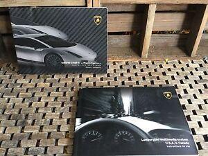 2008 Lamborghini Gallardo Coupe Superleggera Owners Manual Buy