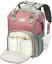 Cosyland Nappy Changing Backpack Diaper Bag for Mom Multi-Function Travel Large