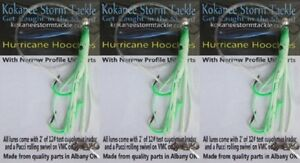 Details about 3 KOKANEE/TROUT LURES GRID IRON HOOCHIES QUALITY TACKLE BY  KOKNAEE STORM TACKLE!