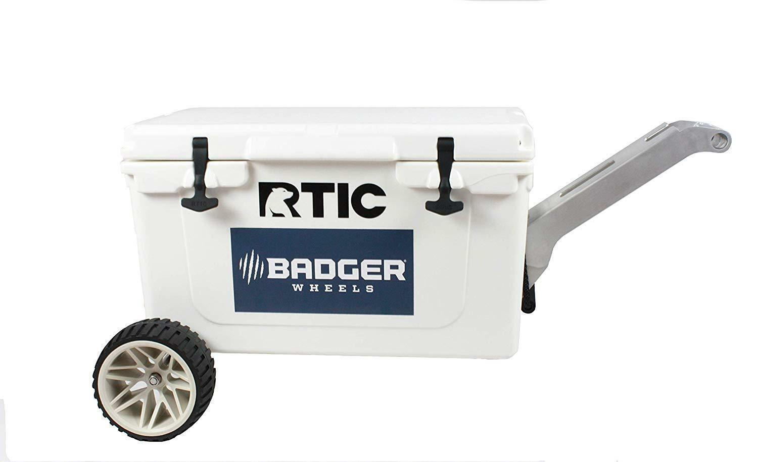 Badger Wheels RTIC Large  Wheel Kit - Single Axle + Handle Stand  RTIC 45 and 65  everyday low prices