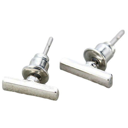 Unisex Bar Ear Climber Earrings Small Rod Cylinder Studs Line Earrings LH