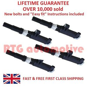4X-FOR-RENAULT-MEGANE-CLIO-TRAFIC-LAGUNA-SCENIC-PENCIL-IGNITION-COIL-PACKS-BOLTS