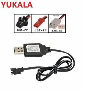 YUKALA 3.6V 4.8V 6.0V 7.2V 9.6V Ni-CD/Ni-MH rechargeable battery USB