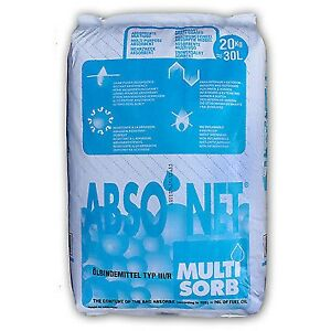 30-Litro-Sacco-Abso-Net-Oelbindemittel-Raccoglitore-Olio-20kg-Olbinder-Tipo