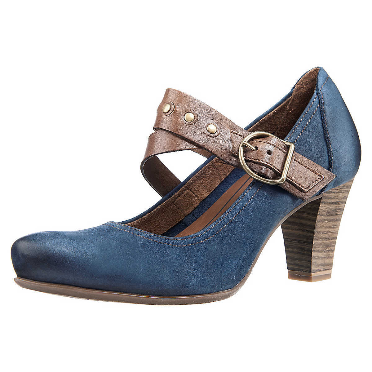 TAMARIS 3462647 Damen Pumps Damenschuhe blau, Gr. 41,