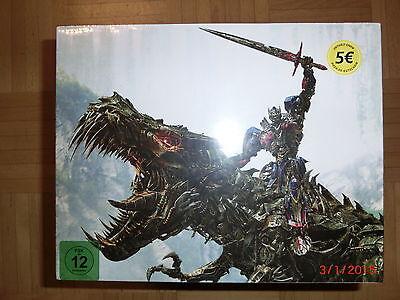 Transformers Ära des Untergangs Dinobot Edition 3D Steelbook Amazon OOP Neu&OVP