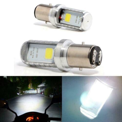 Grandview 2pcs blanc BA20D H616 COB 12W 900LM ampoules LED en aluminium