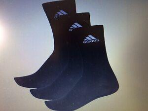 Adidas Performance Crew Mince Sport Noir Chaussettes Pack 3 Taille Uk 5.5. - 8-afficher Le Titre D'origine Conduire Un Commerce Rugissant